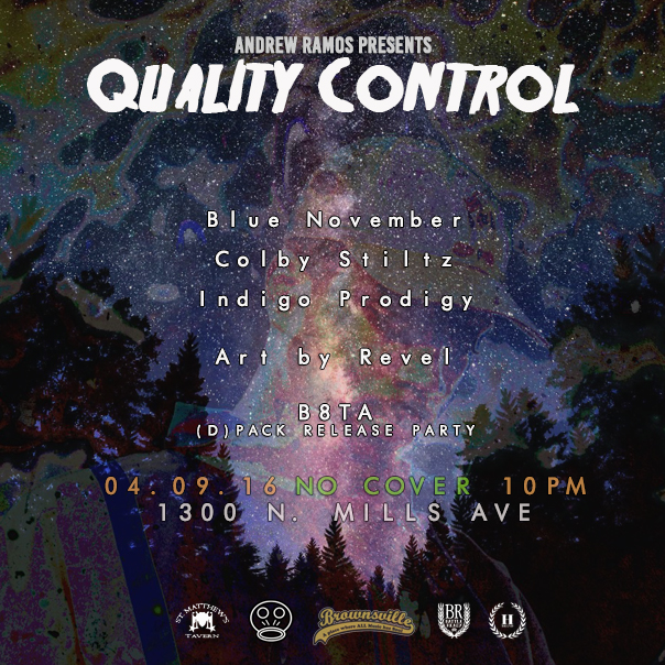 Quality Control April 9th